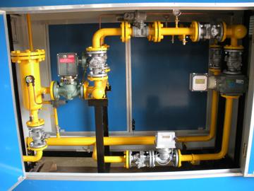 天然气区域调压箱