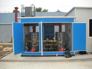 热水循环锅炉及水箱