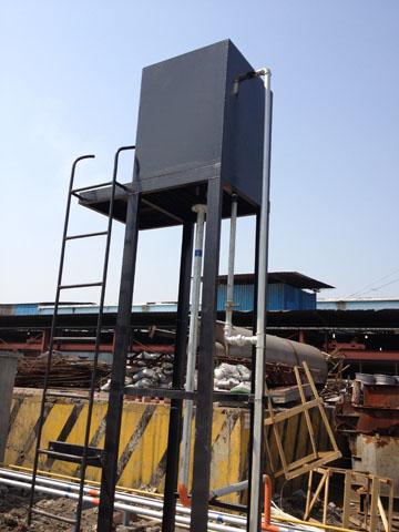 燃气锅炉储水箱