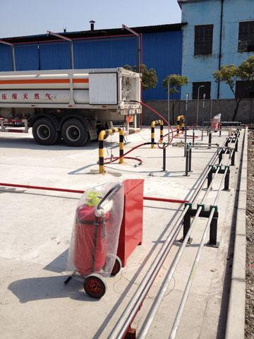 卸车柱,高压软管及高压管段,燃气报警探头