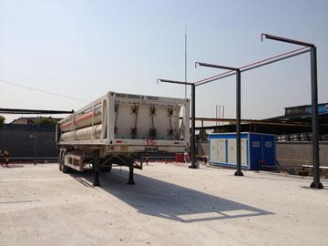 CNG拖车位消防喷淋