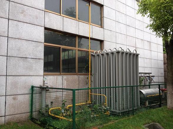 100方LNG气化减压站