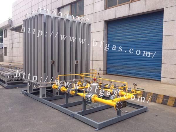 200方LNG气化减压站